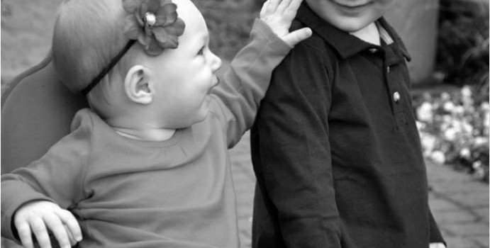 Help Siblings through the New Baby Transition