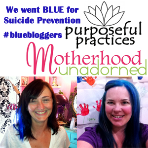 #BlueBloggers Raising the Stakes for #SuicidePrevention