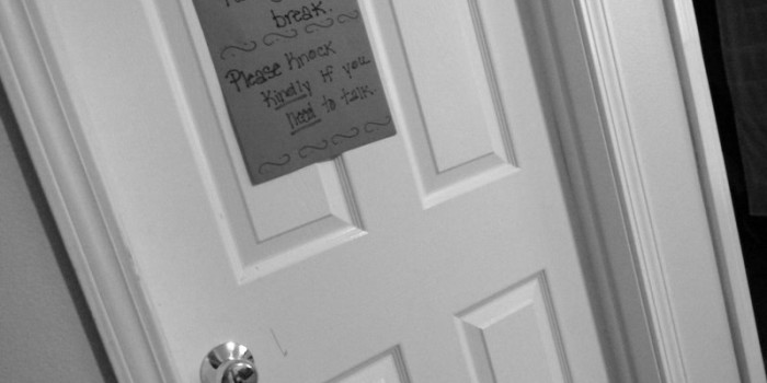I'm Not a Bad Mom Because I Lock the Door