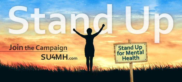 I'm Standing Up for Mental Health