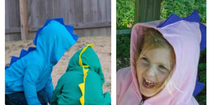Auction Item 19: Child's Dinosaur Hoodie {Sold}