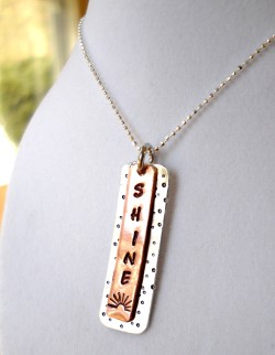 "Auction Item 22: ""Shine"" Multi-Metal Necklace {Sold}"