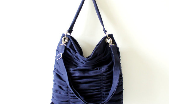 {CLOSED} Item 18: Large Handbag Midnight Blue