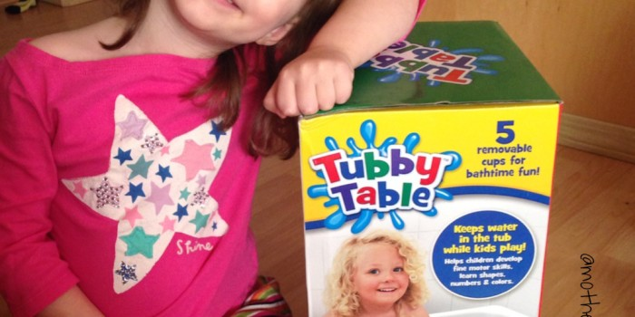 Tubby Table Bath Toy {Review}