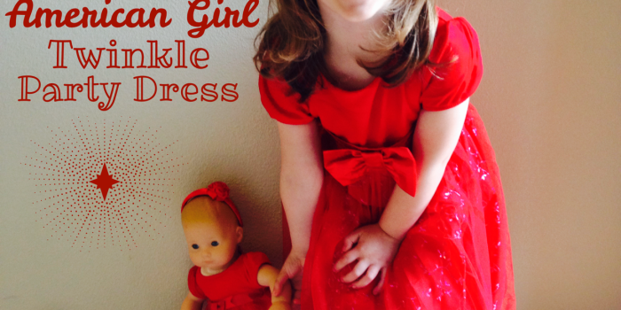 Little Girl & Doll Style: America Girl Twinkle Party Dress