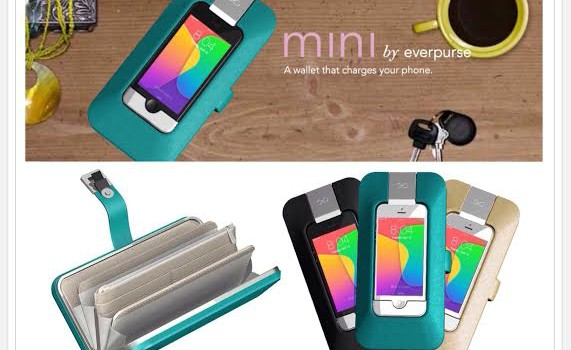 This Chic Wallet Charges an iPhone {Pre-order Pricing till May 6}