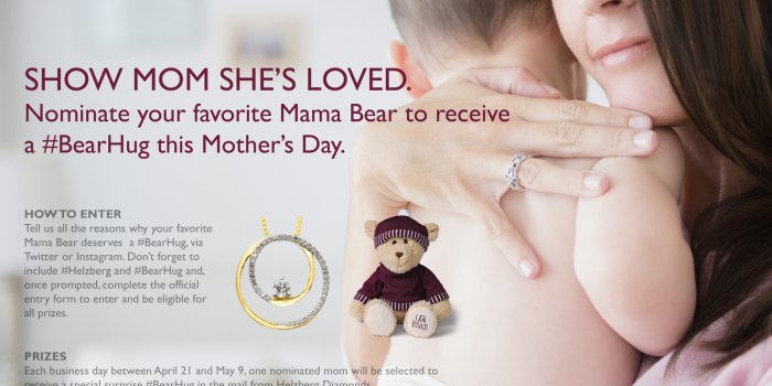 Nominate a Mama Bear! {Helzberg #BearHug}
