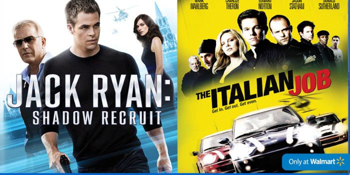 Jack Ryan: Shadow Recruit Blu-Ray/DVD Exclusive Deal