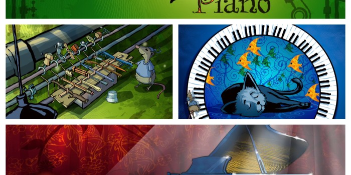 Topo's Piano Interactive Storybook