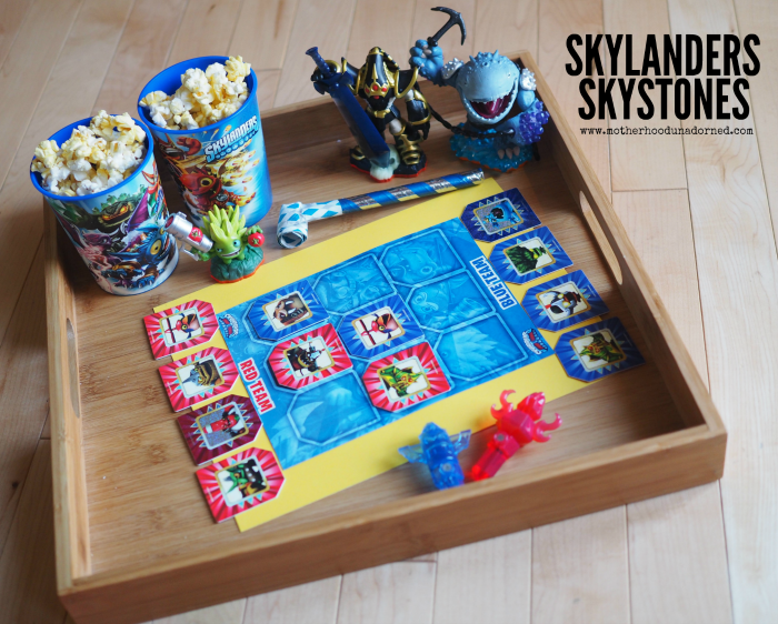 Skylanders Skystones Card Game and Other Party Ideas