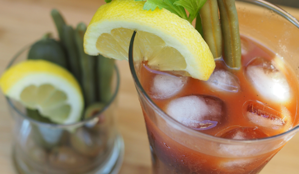 New Orleans Style Bloody Mary Boosted