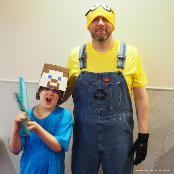 sc 1 st  Life Unadorned & DIY Minecraft Steve Box Hat