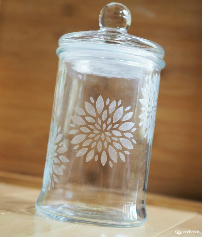 Simple and Beautiful Glass Etching