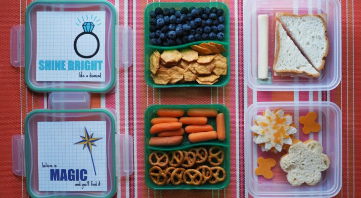 Back to School Lunch Storage {Printable Lunchbox Notes}