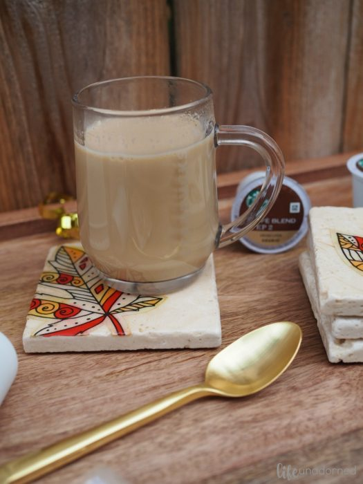 DIY-Rustics-Stone-Coasters-and-Starbucks®-Caffè-Latte-K-Cup®-pods-2