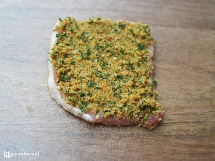 layer-bread-crumb-mixture-on-top-of-pork-tenderloin