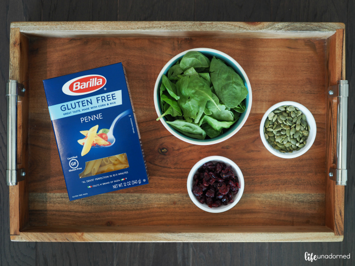 gluten free pasta ingredients