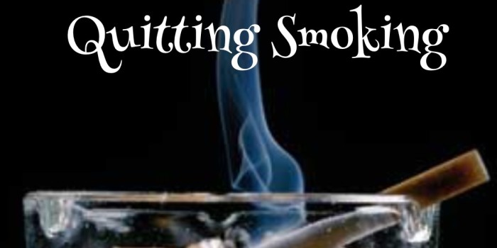 My Dad's Greatest Gift: Quitting Smoking