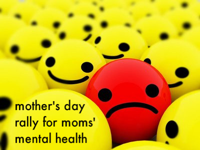 Mother's Day Rally for Moms' Mental Health