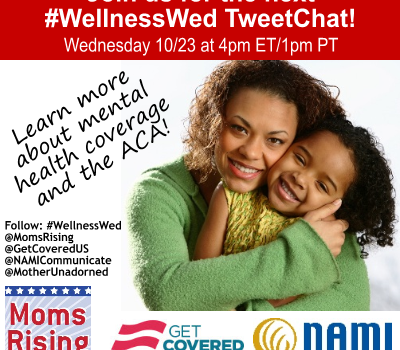 Join Us for #WellnessWed Mental Health TweetChat