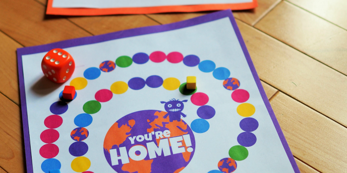 printable board game inspired by Dreamworks home film