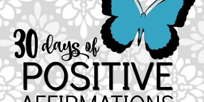 Conquering Depression: 30 Days of Positive Affirmations