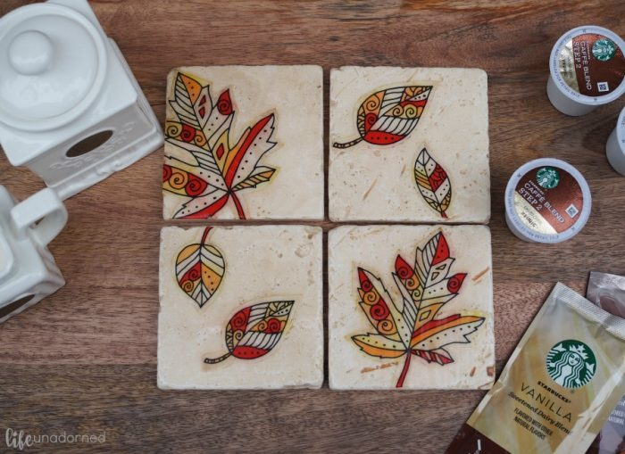 DIY-Fall-Inspired-Rustic-Stone-Coasters