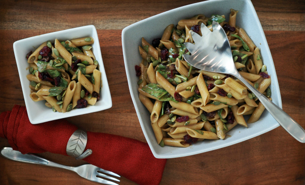 feature-Gluten-Free-Spinach-Cranberry-Pumpkin-Seed-Pasta-Salad